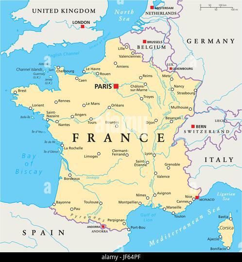 Corsica Map Stock Photos Corsica Map Stock Images Alamy