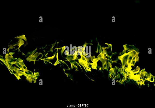 Green Fire Texture