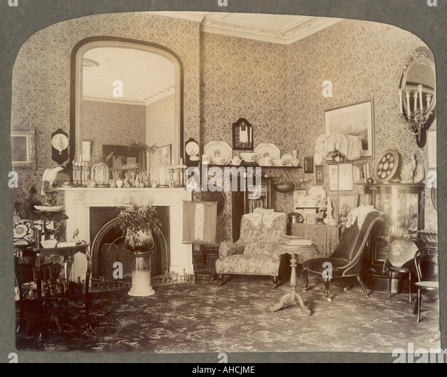 Victorian Drawing Room: Victorian Living Room Stock Photos & Victorian Living Room