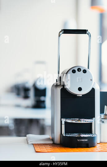 nespresso shop stock photos nespresso shop stock images. Black Bedroom Furniture Sets. Home Design Ideas