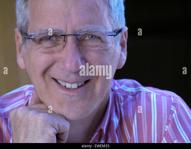 Rimless Glasses Bald : Portrait Middle Aged Man Wearing Glasses Stock Photos ...