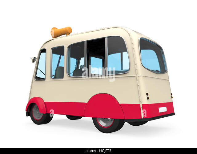 Ice Cream Truck Cut Out Stock Images Pictures
