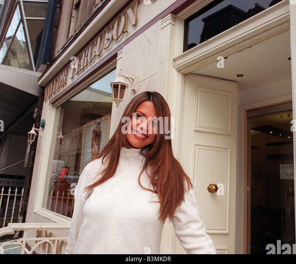 Tv Presenter Jenny Powell Stock Photos Amp Tv Presenter
