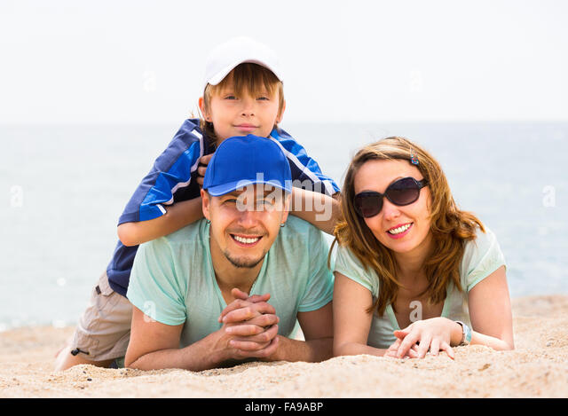 Lower middle class family