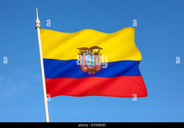 Ecuador Flag Stock Photos Ecuador Flag Stock Images Alamy - Ecuador flags