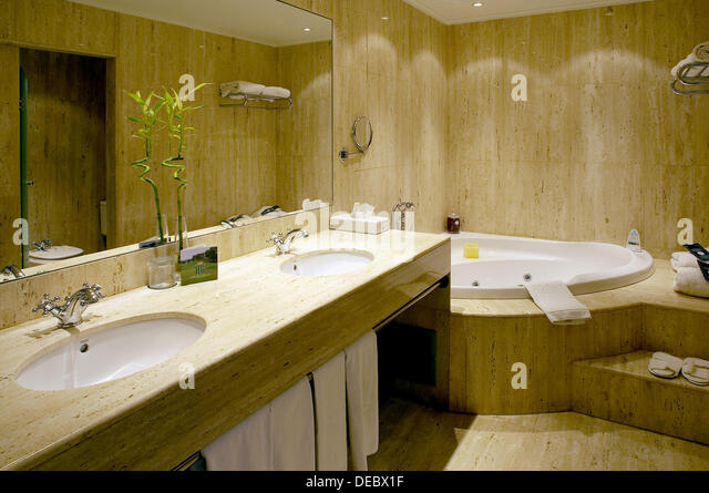 room in hotel golf peralada girona province catalonia spain stock image