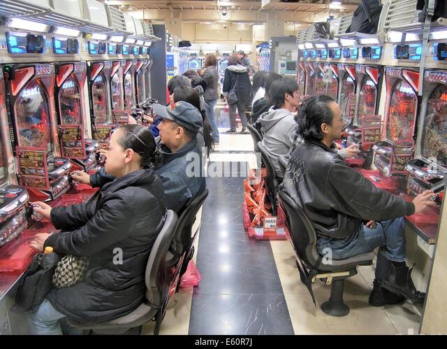 Japan gambling machine casino pay out