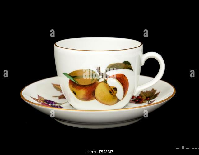 Vintage (1970\u0027s) Royal Worcester \u0027Evesham\u0027 cup and saucer. & Royal Worcester Tableware Stock Photos \u0026 Royal Worcester Tableware ...