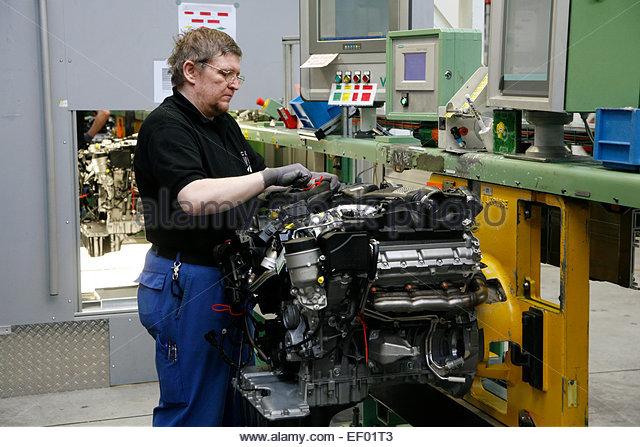 Mercedes Benz Assembly Stock Photos Mercedes Benz