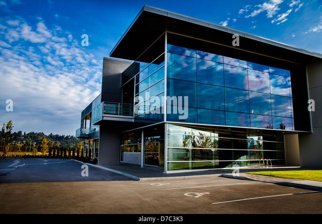 Contemporary Commercial Office Building Stock Photos ...