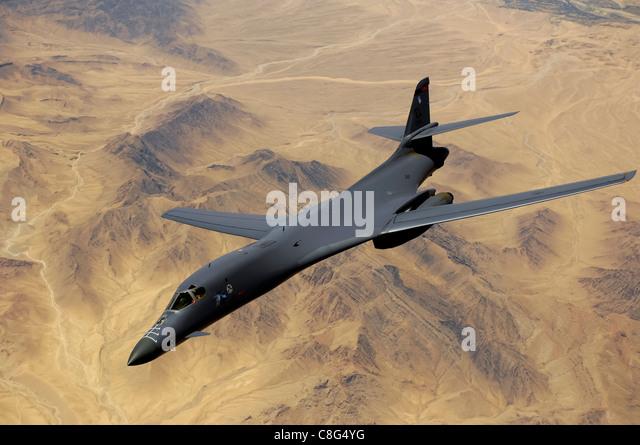 B1b Stock Photos...B1 Lancer Supersonic
