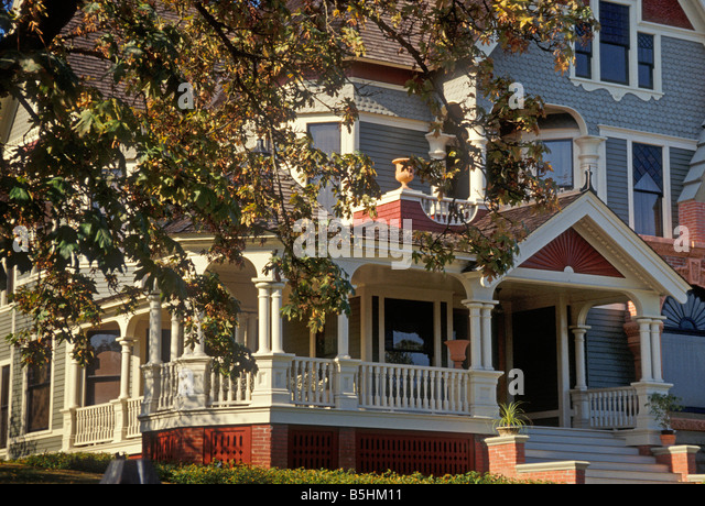 Victorian house exterior stock photos victorian house for Victorian home catalog