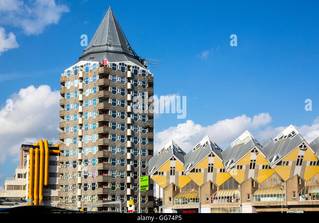 Superior Pencil Building, Rotterdam   Stock Image Awesome Ideas