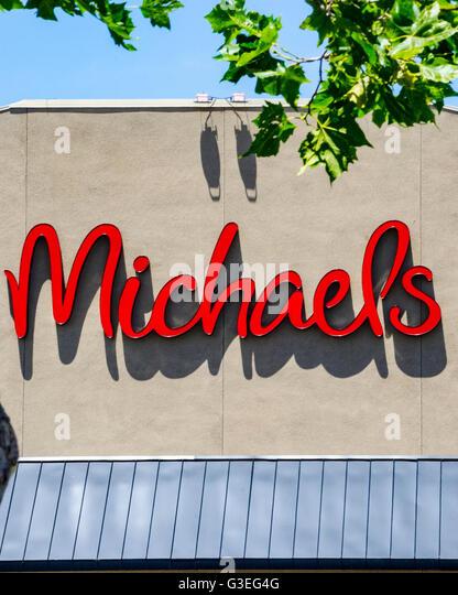 Michaels craft store stock photos michaels craft store for Michaels craft store san diego