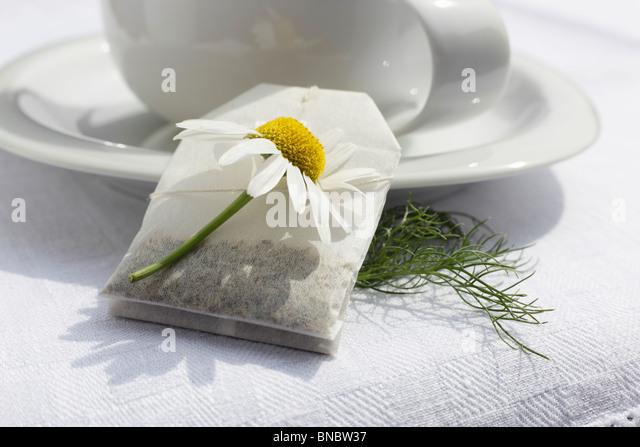 chamomile tea stock photos chamomile tea stock images alamy. Black Bedroom Furniture Sets. Home Design Ideas