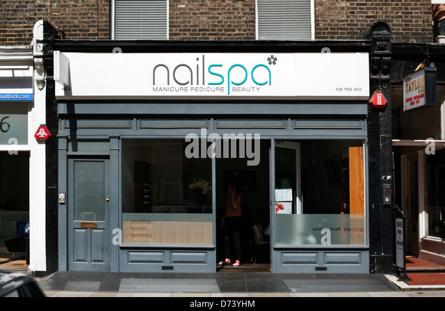 Marylebone london w1 exterior stock photos marylebone for Nail salon marylebone