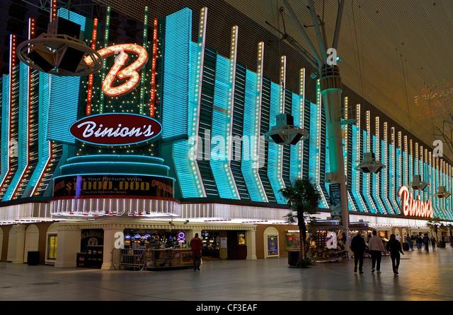 Binions casino in las casino bowler wi