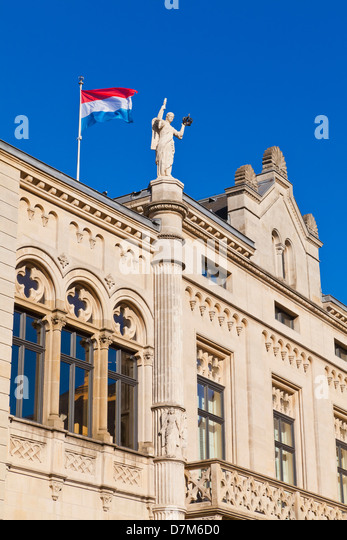 Luxembourg flag stock photos luxembourg flag stock for Chambre de deputes luxembourg