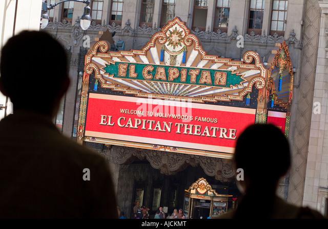 El Capitan Theatre Hard Rock Cafe