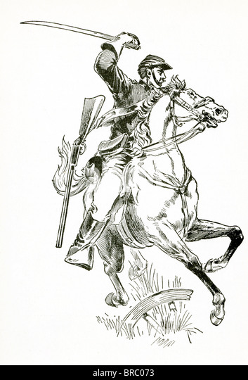 Cavalry Charge Coloring Pages