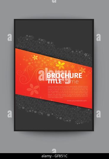 Nice Book Cover Design : Fashion magazine cover stock photos