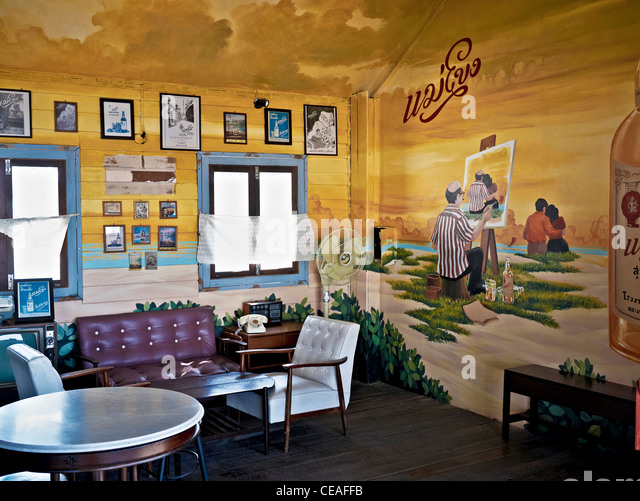 Gallery Of Latest Modern Wine Bar And Bistro Furnished And Decorated In  Retro Vintage Us Style Stock Image With Moderne Weie Sthle With Weie Modern
