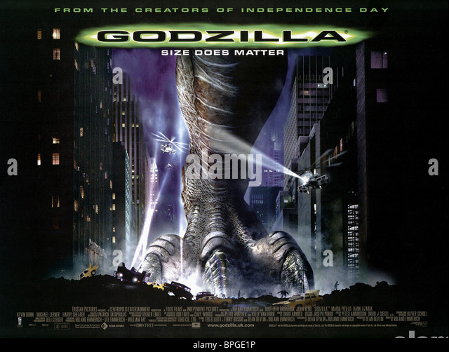 godzilla movie 1998 poster wwwimgkidcom the image