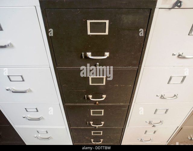 Untidy Office Messy File Cabinets Stock Photos Untidy Office - Funky filing cabinets