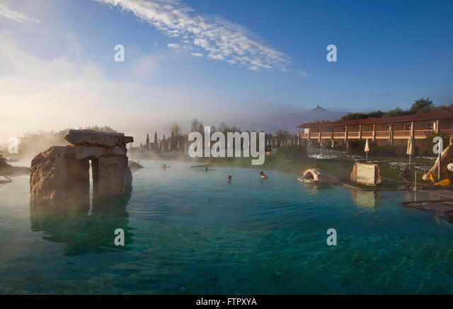 hotel adler thermae spa relax resortbagno vignonitoscana stock image