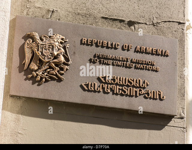 http://l7.alamy.com/zooms/1f33314f0aa3484da2caa149a6f38b1f/permanent-mission-to-the-republic-of-armenia-to-the-united-nations-d7p70a.jpg