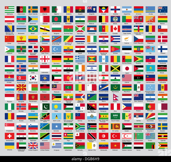 Country Flags Stock Photos & Country Flags Stock Images - Alamy