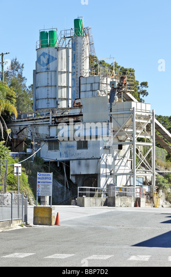 Cement Manufacturing Plants United States : Cement plant stock photos images alamy