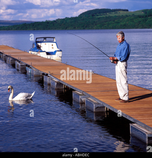Time for new possibilities stock photos time for new for Loch lomond fishing
