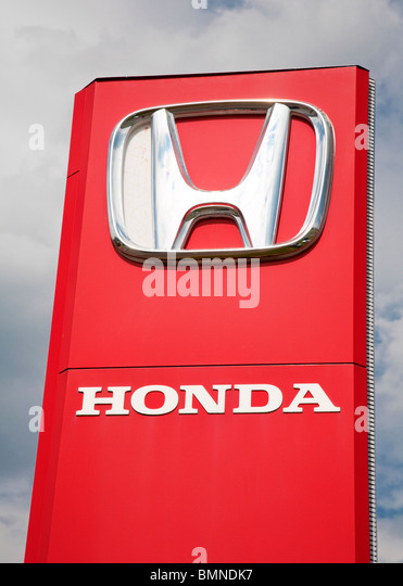 Honda Logo Stock Photos Amp Honda Logo Stock Images Alamy