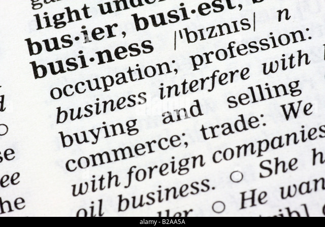 a definition of five key terms in business The following glossary provides a brief definition of key terms and concepts as  they are used in the context of  members of a plc, by definition, will learn  together  good to great: why some companies make the leap    and others  don't.