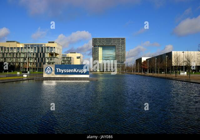 headquarters of thyssenkrupp ag stock photos headquarters of thyssenkrupp ag stock images alamy. Black Bedroom Furniture Sets. Home Design Ideas
