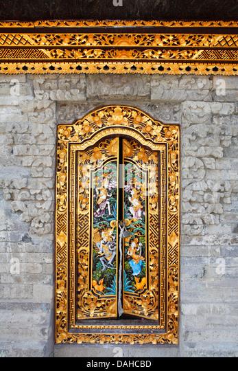 Decorated Temple Door. Hulun Danau Batur Songan. Bali Indonesia. - Stock & Balinese Door Stock Photos \u0026 Balinese Door Stock Images - Alamy Pezcame.Com