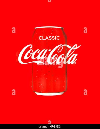 Coca Cola Spray Stock Photos Amp Coca Cola Spray Stock