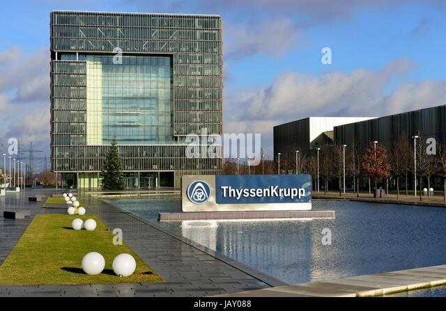 headquarters of thyssenkrupp steel stock photos headquarters of thyssenkrupp steel stock. Black Bedroom Furniture Sets. Home Design Ideas