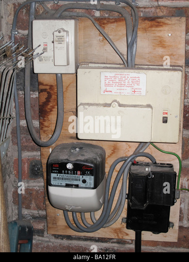 Electricity Meter Uk Stock Photos Amp Electricity Meter Uk