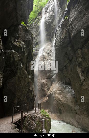 beautiful soft waterfall in -#main