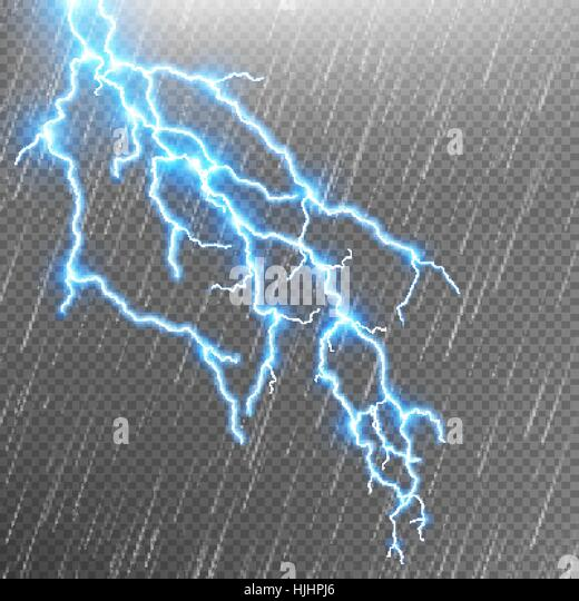 Lightning strike stock vector images alamy for Lightning link template