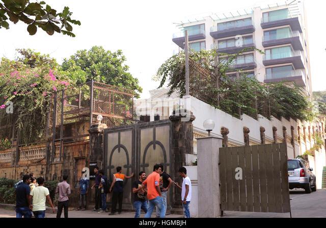 House Of Shahrukh Khan Mannat Mannat Stock Photos &a...