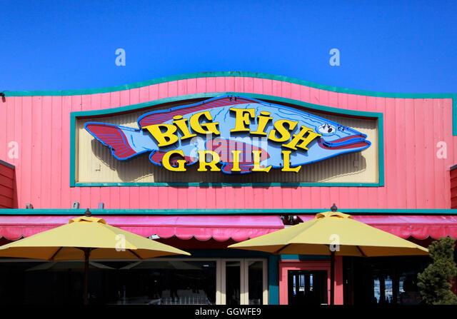California grill restaurant stock photos california for Big fish restaurant