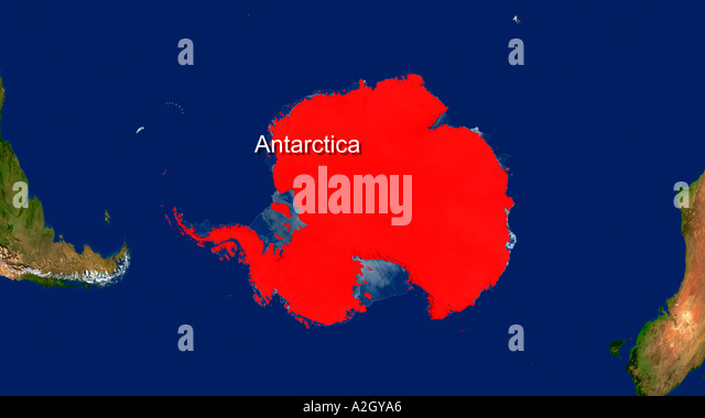 Map Satellite Geography Antarctica Stock Photos Map Satellite - Satellite map of antarctica