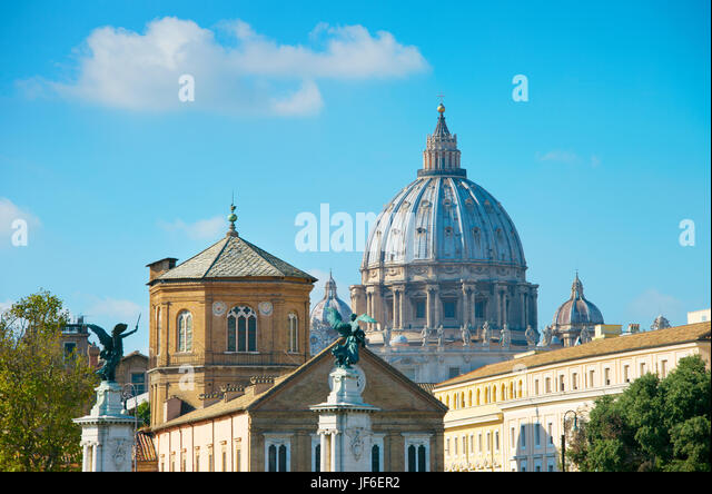 Famous Rome architecture, italy - Stock Image