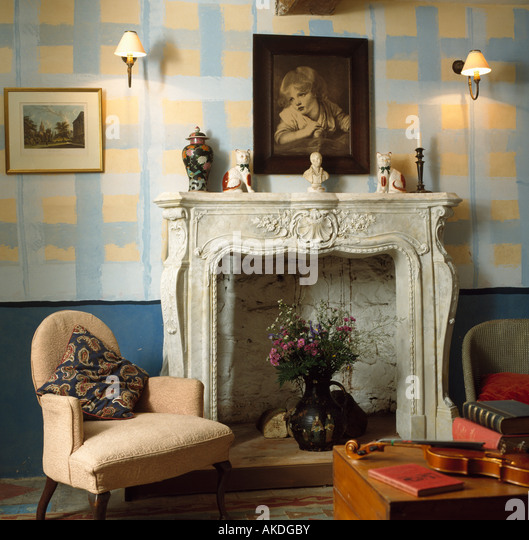 Find the perfect interiors traditional livingroom fireplace stock photo. Huge collection