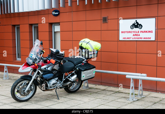 Motorbike Motorcycle Parking Space Stock Photos Motorbike