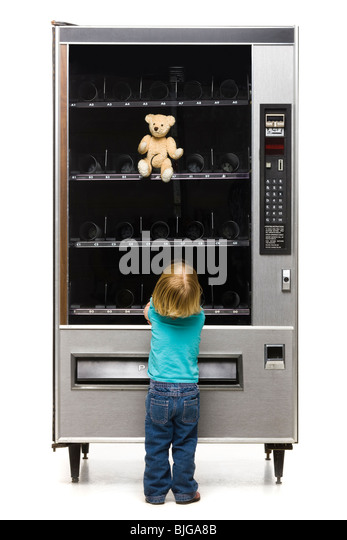 teddy vending machine