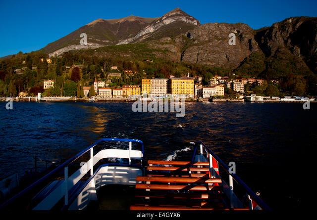 Car Ferry Tremezzo Lake Como Stock Photos Car Ferry Tremezzo